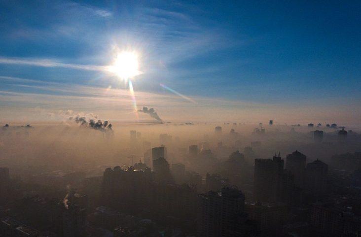 список міст з найбруднішим повітрям
